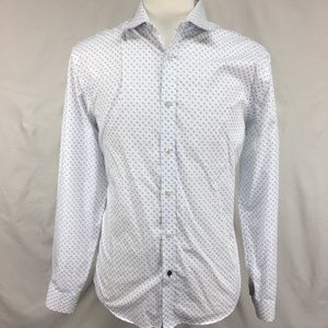 Tommy Hilfiger Slim Fit No Iron White Button Up